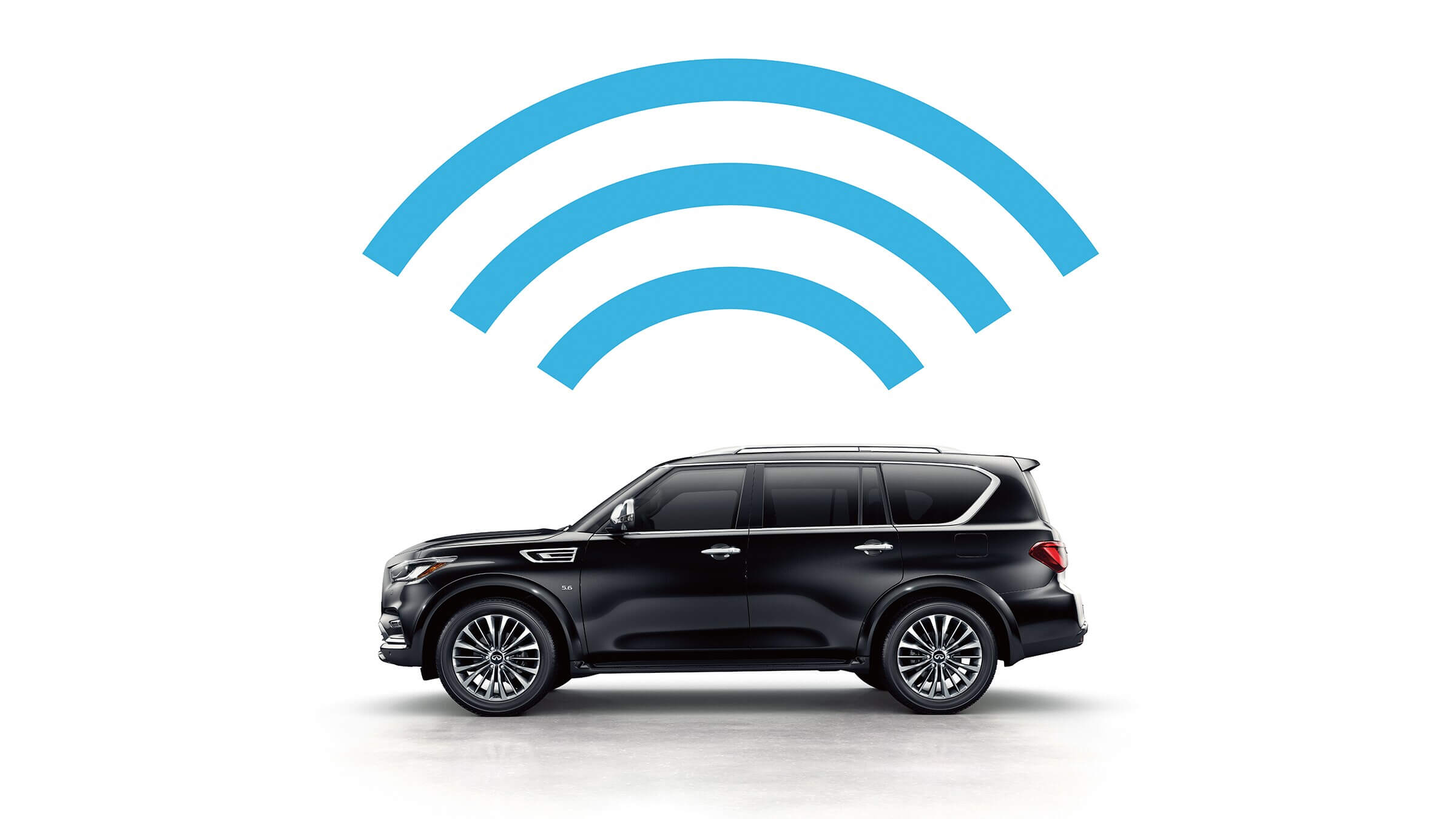 2021 Infiniti Qx80 with Infiniti InTouch
