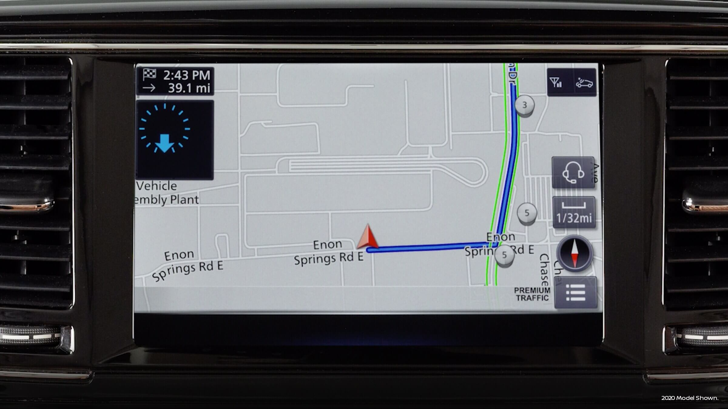 2021 Infiniti Qx80 with navigation