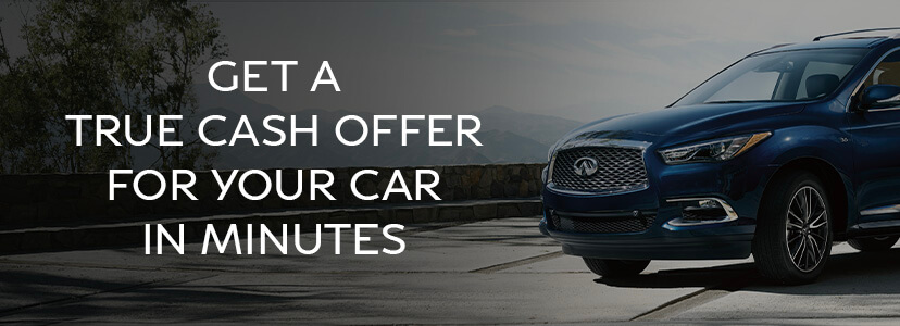 Get a true cash offer for  your car in minutes