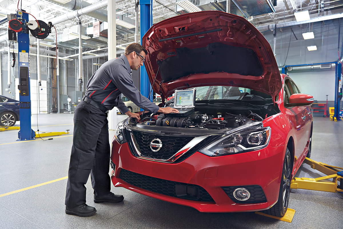 NISSAN RECOMMENDED SERVICES* - EXPRESS SERVICE