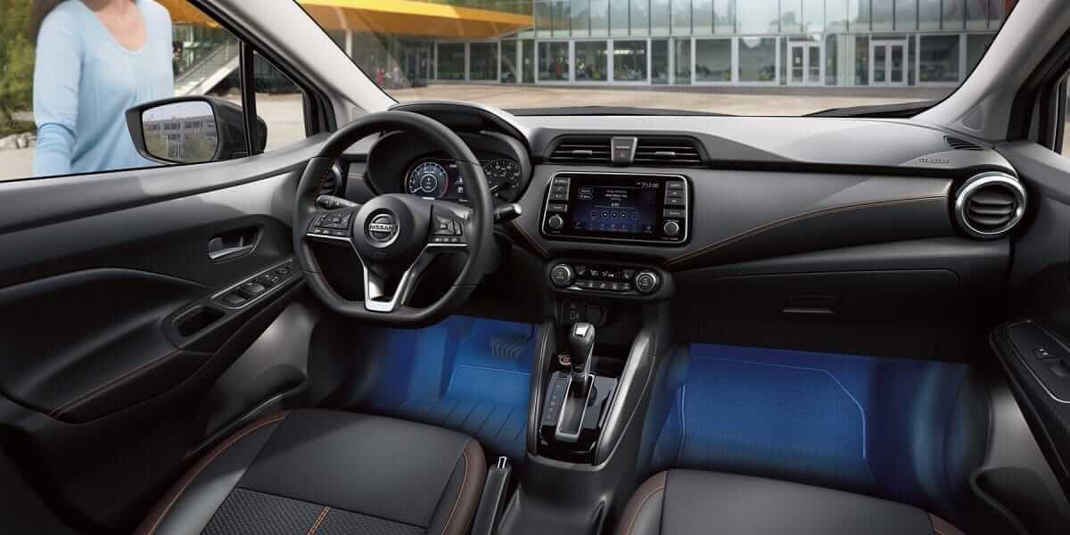 2020 Nissan Versa best in class front legroom