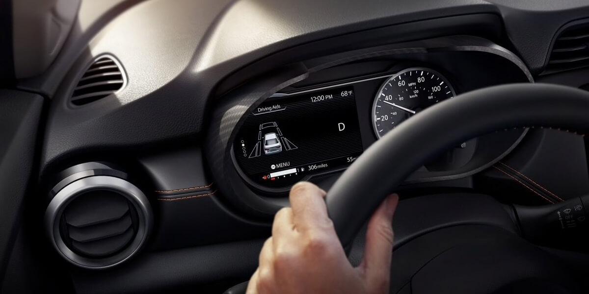 2020 Nissan Versa exclusive rear automatic braking