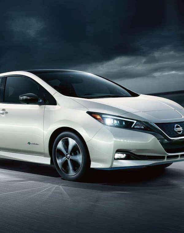 2020 Nissan Leaf electric vehicle savings & benefits