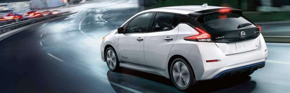 2020 Nissan Leaf electric vehicle aerodynamic exterior styling