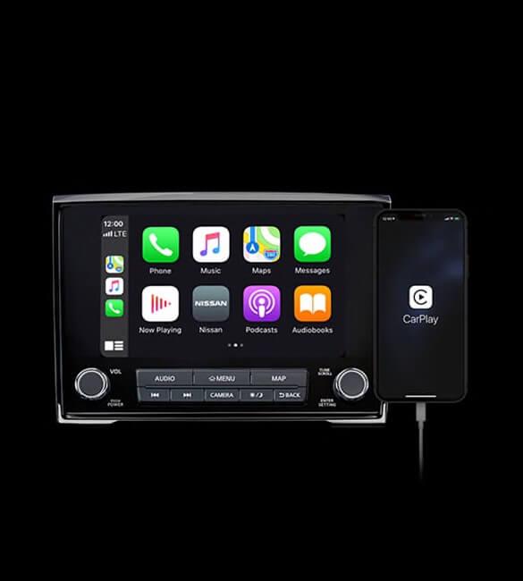 2021 Nissan Titan Apple CarPlay integration