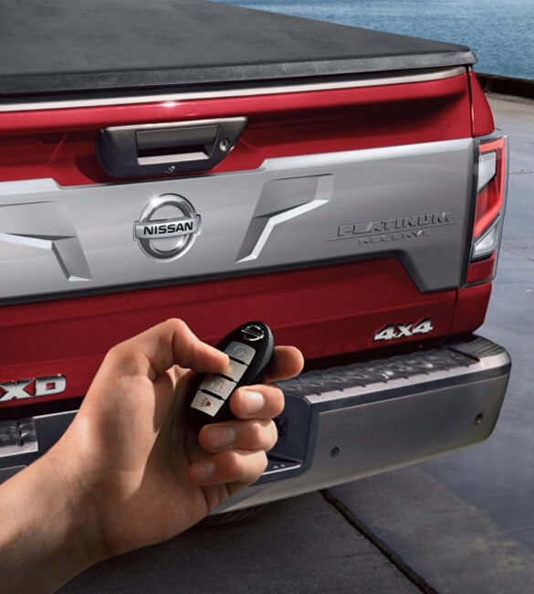 2021 Nissan Titan Remote Engine Start System with Intelligent Climate Control