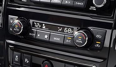 2021 Nissan Titan Dual Zone Automatic Temperature Control