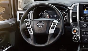 2021 Nissan Titan heated steering wheel
