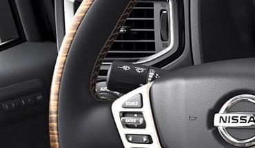 2021 Nissan Titan rain-sensing wipers