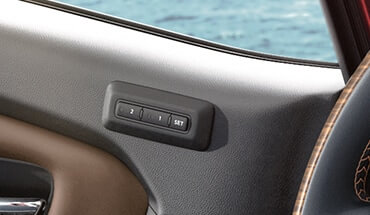 2021 Nissan Titan Driver Memory Seat System