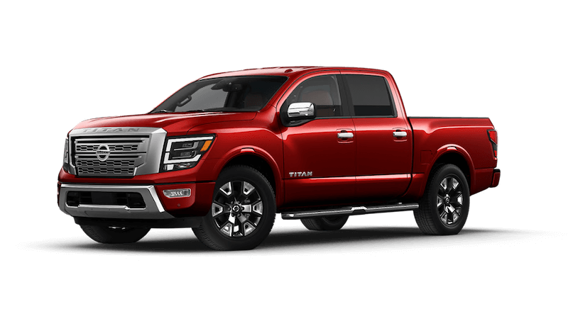 2021 Nissan Titan truck for sale at Glendale Nissan near (nearby-city--1)