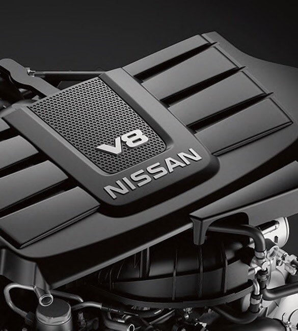 2021 Nissan Titan Endurance V8 engine