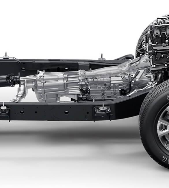 2021 Nissan Titan 9-speed transmission