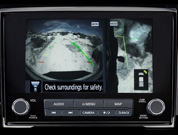 2021 Nissan Titan Intelligent Around View Monitor