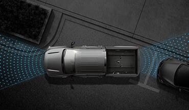 2021 Nissan Titan Front/Rear Parking Sensors