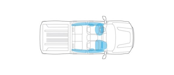 2021 Nissan Titan 8 Standard air bags