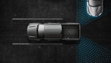 2021 Nissan Titan Rear Cross Traffic Alert