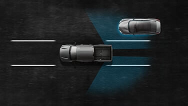 2021 Nissan Titan Blind Spot Warning