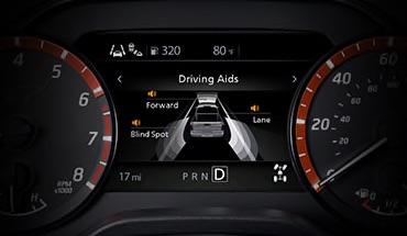 2021 Nissan Titan Advanced Drive-Assist® Display