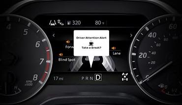 2021 Nissan Titan Intelligent Driver Alertness