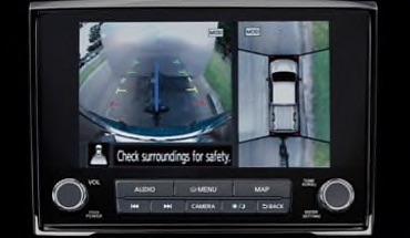 2021 Nissan Titan Intelligent Around View® Monitor