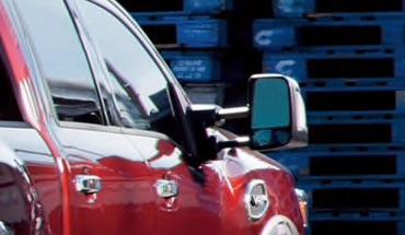 2021 Nissan Titan Tow Mirrors