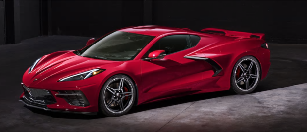 When you completely reimagine a car as iconic as Corvette, you get a beautifully sculpted mid-engine sports car that makes a powerful statement. Not your everyday car, but a car you want to drive every day. And with aerodynamic components integrated throughout, its gorgeous form is functional.