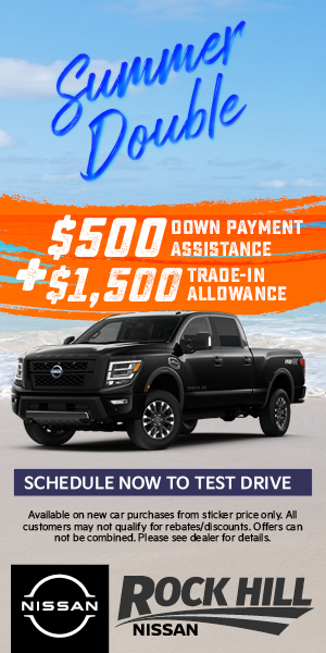 Summer Double at Rock Hill Nissan