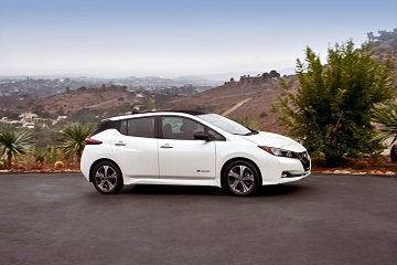 2018 Nissan Leaf available at Rock Hill Nissan