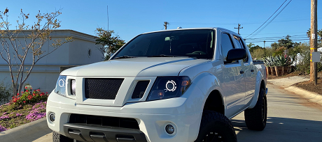 Exterior appearance of the 2021 Nissan Frontier available at Rock Hill Nissan