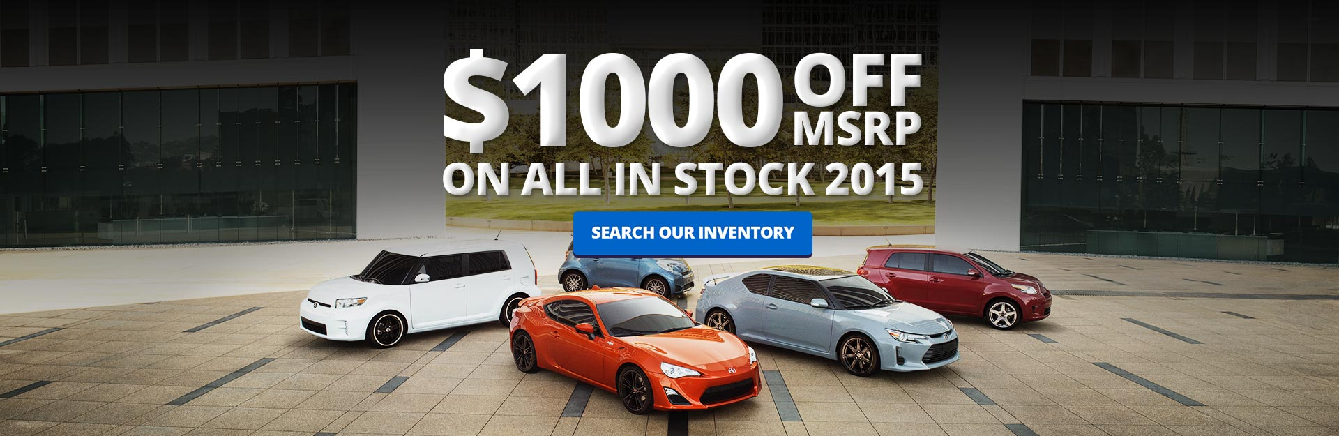 $1000 Off of 2015
