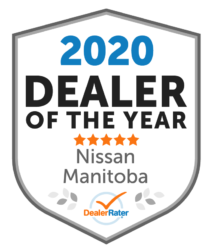 2020 Dealer of the Year - Nissan Manitoba