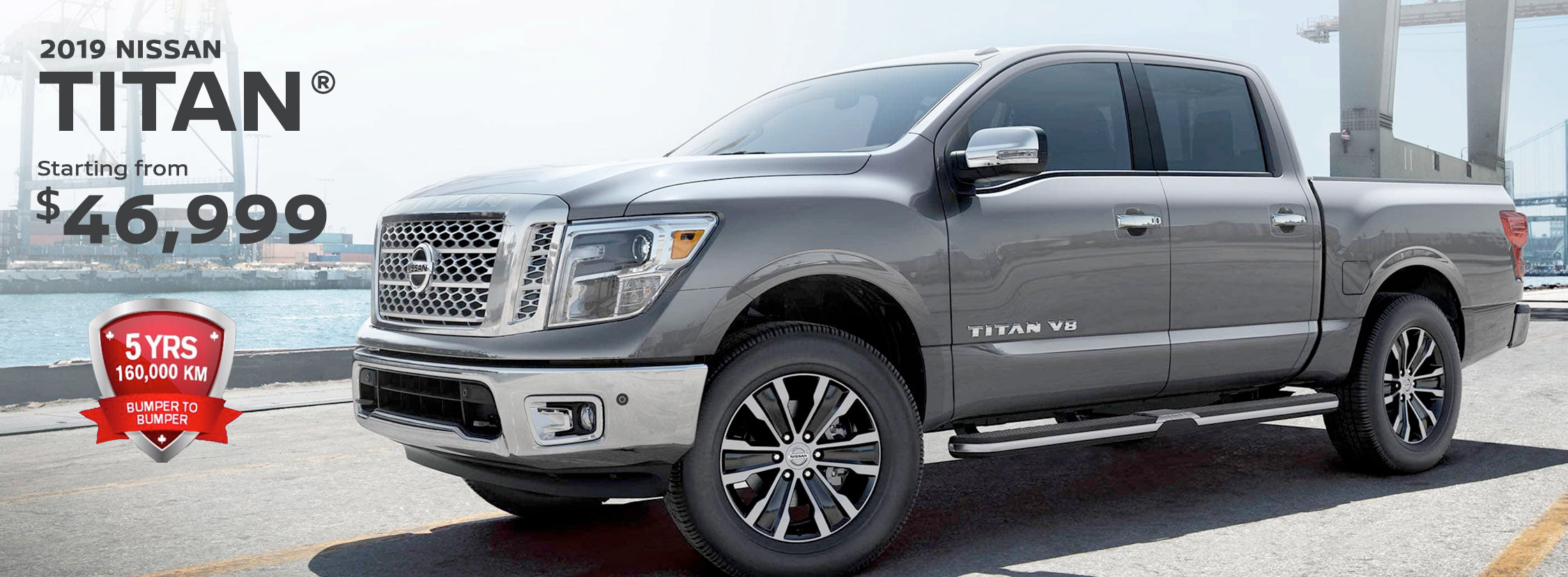 2019 Nissan Titan Starting from $46,999