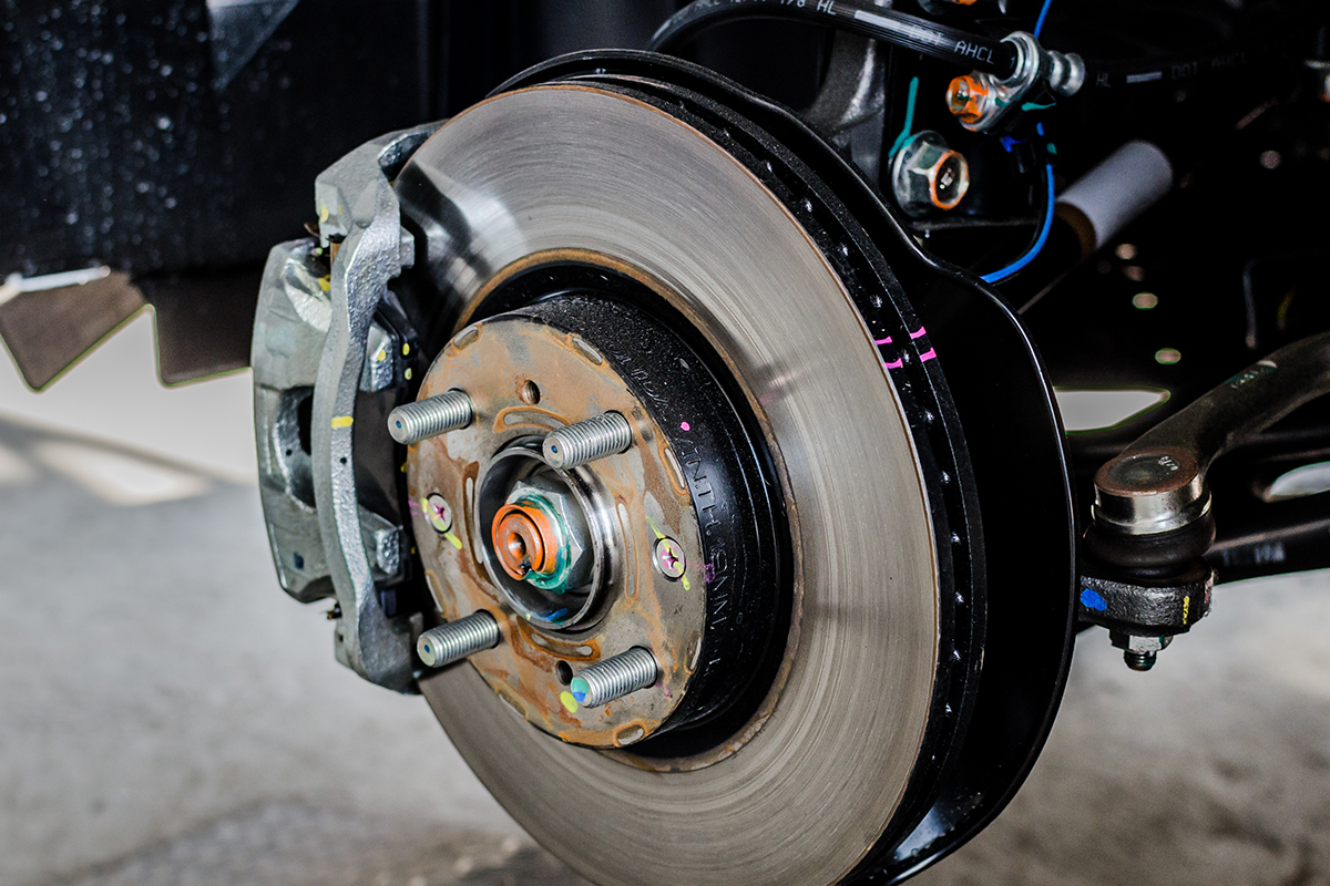 FOR YOUR PEACE OF MIND: BRAKE ROTOR REPLACEMENT