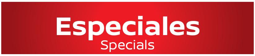 New Specials Inventory
