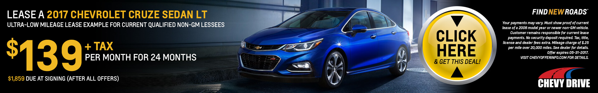 Cruze SRP LEASE