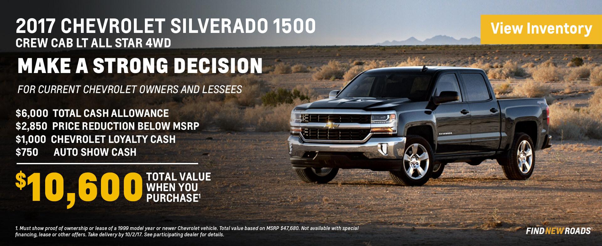 2017 Silverado 1500