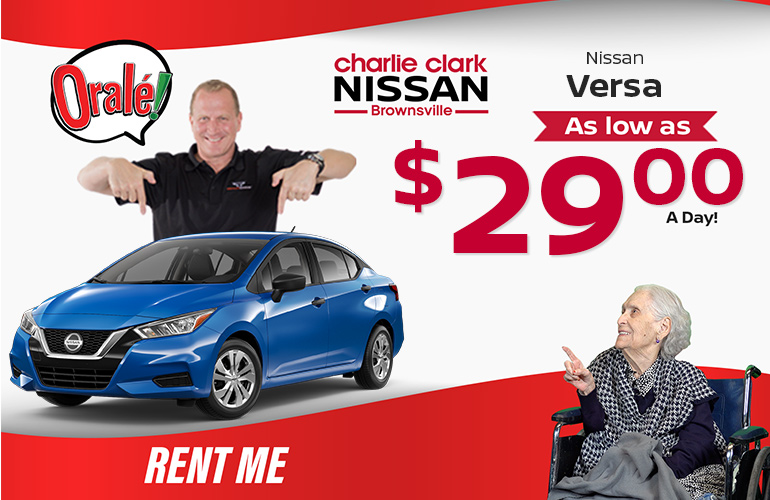 Nissan Rental Cars I Rent A Car Directly From Local Nissan Dealership