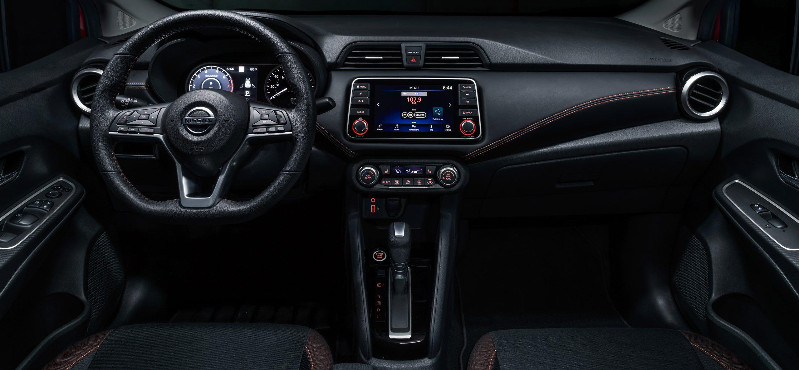 Nissan Versa Interior Brownsville