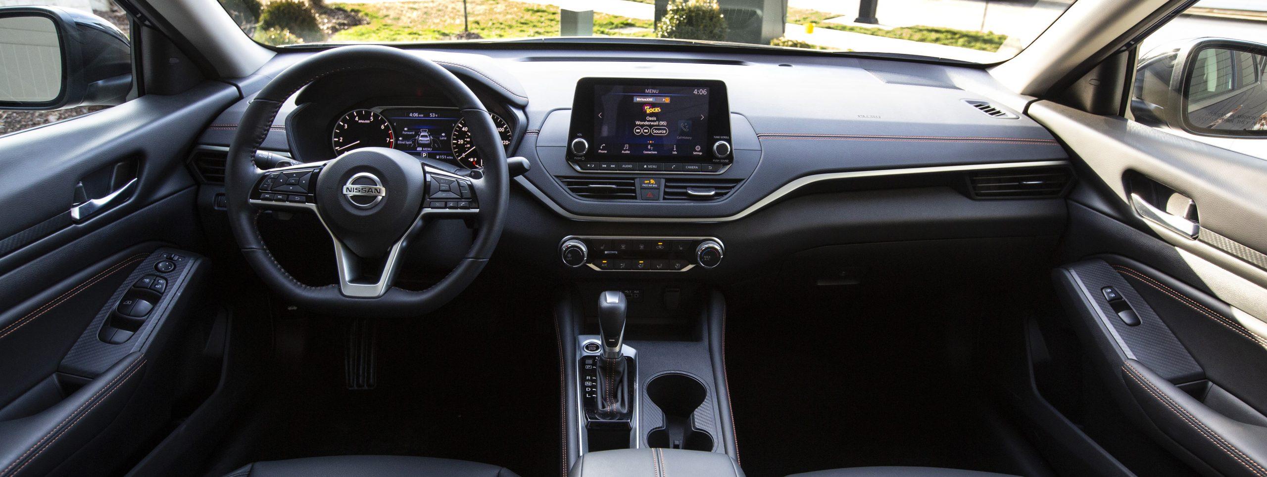 Nissan Altima Interior Brownsville