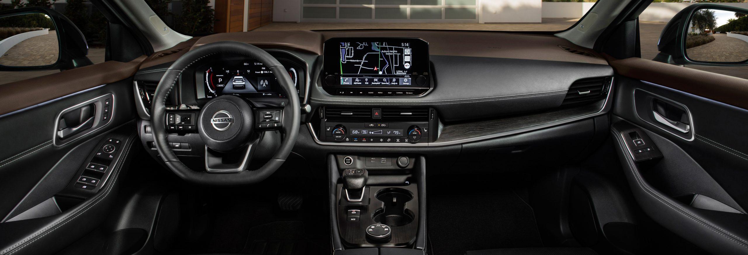 Nissan Rogue Interior Brownsville