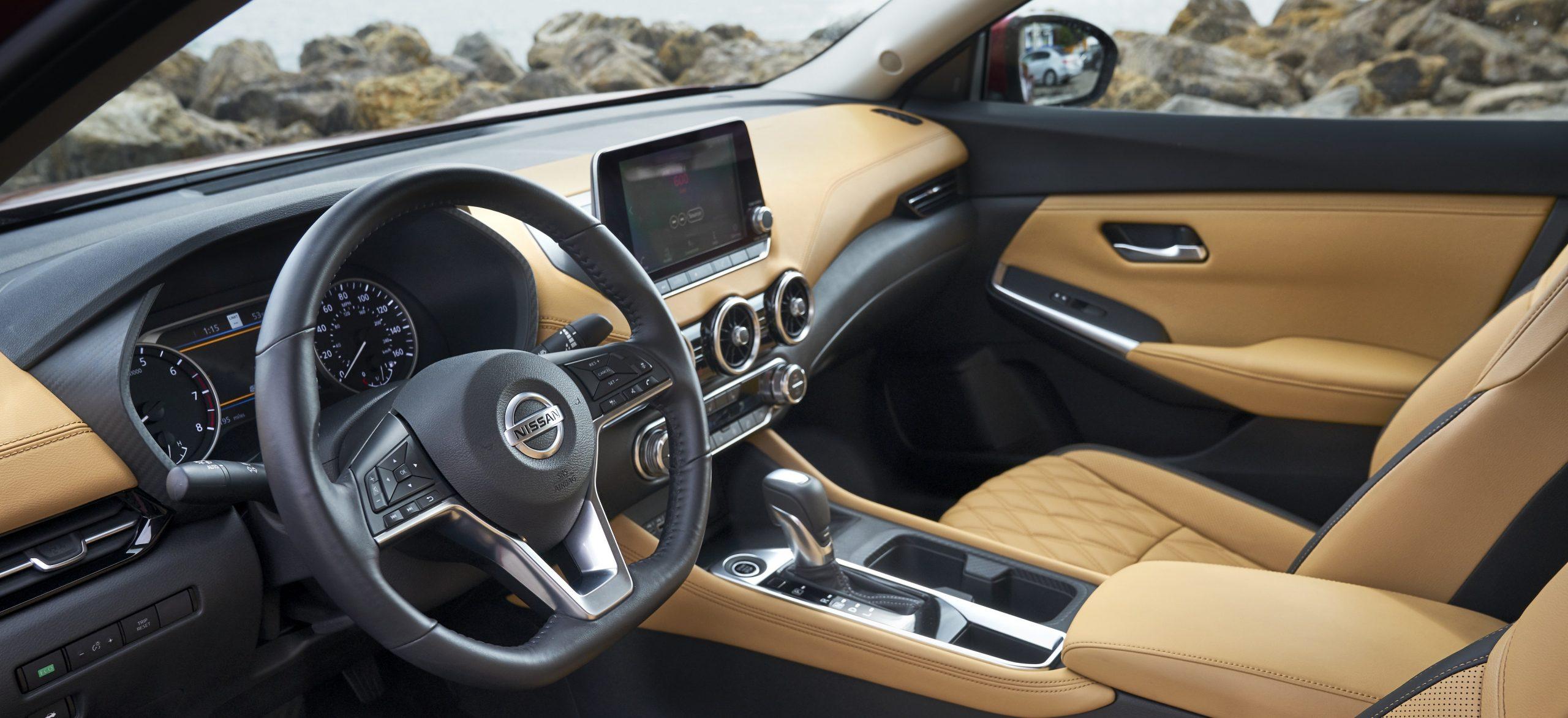 Nissan Sentra interior Browsville