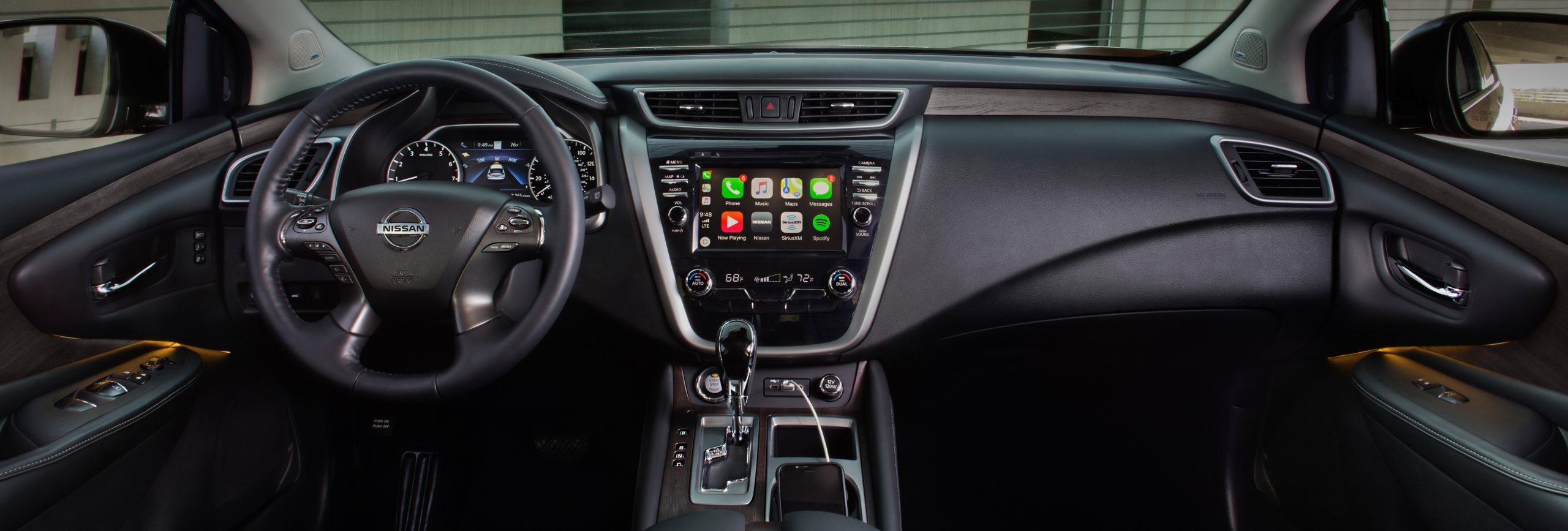 Nissan Murano Interior Harlingen