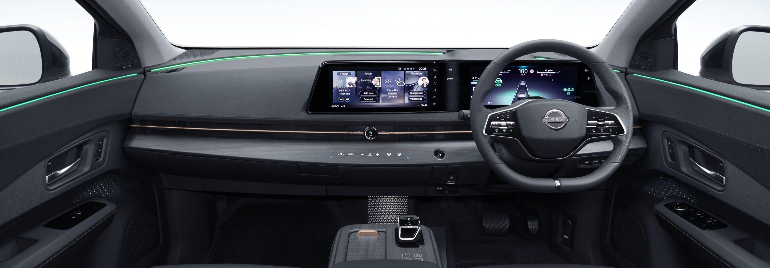 Nissan Ariya interior harlingen