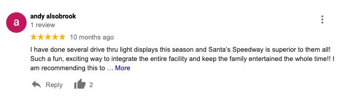 Santa's Speedway Review