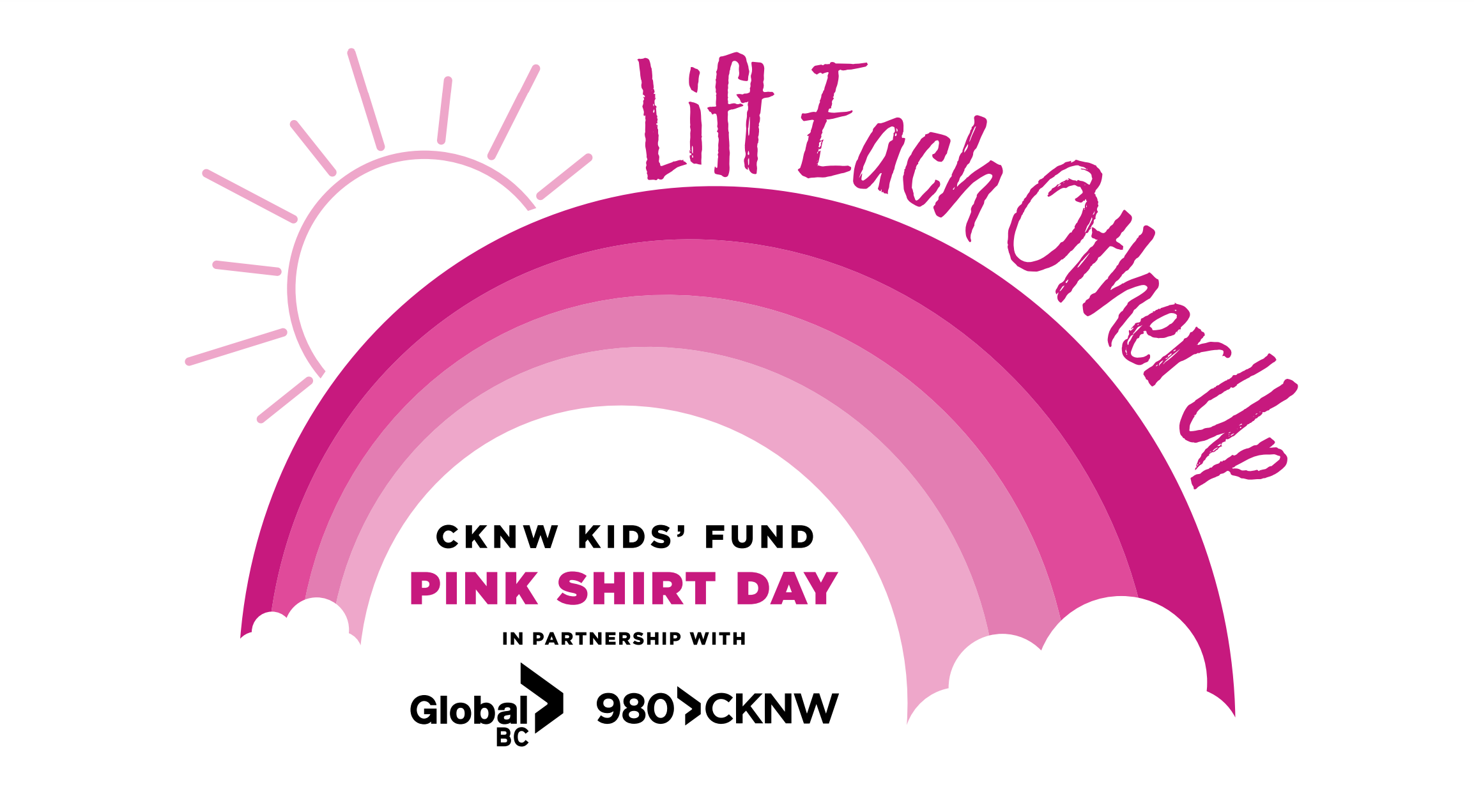 Lift Each Other Up - CKNW KIDS' FUND PINK SHIRT DAY