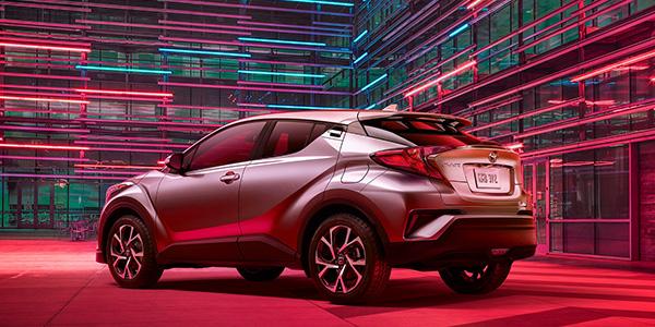 2020 Toyota C-HR technology