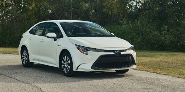 2020 Toyota Corolla Hybrid performance