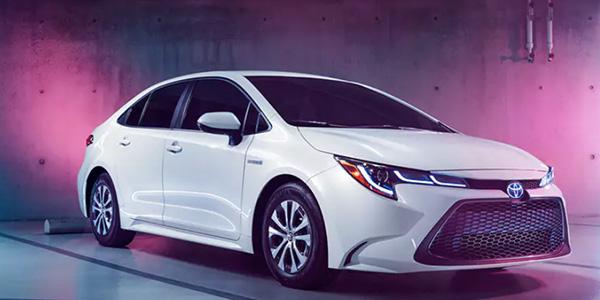 2020 Toyota Corolla Hybrid design
