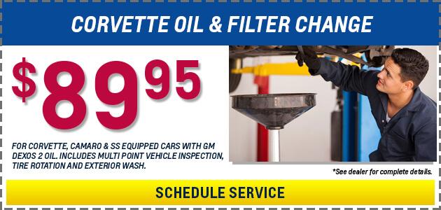 89.95 Oil Change